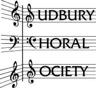Black & White Sudbury Choral Society logo