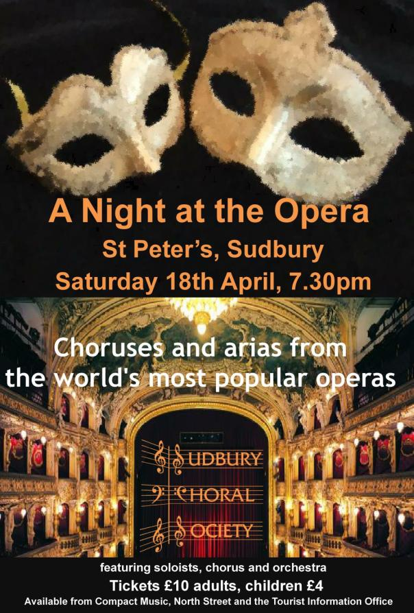 Spring Concert Sudbury Choral Society